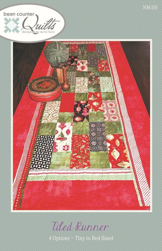 Tiled Runner Pattern by Bean Counter Quilts