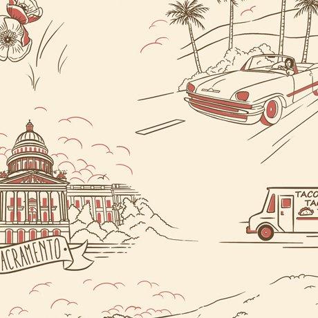 California Here We California Vignettes
