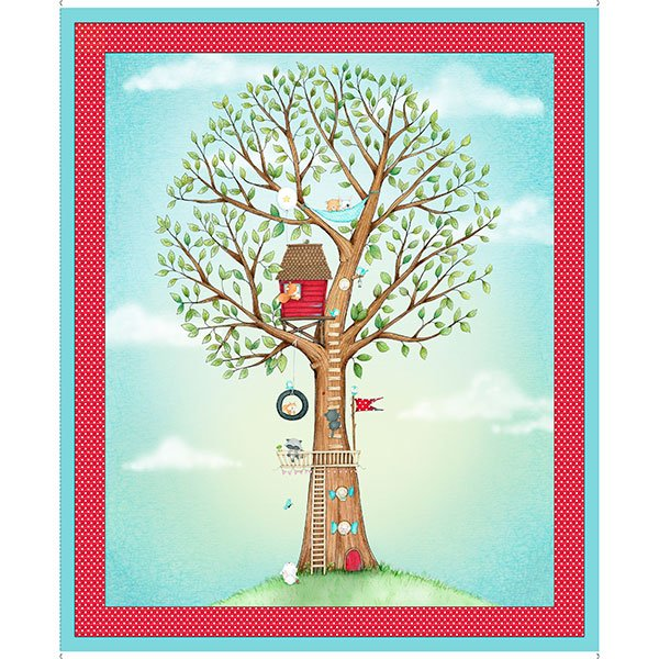 ANIMAL IN TREE PANEL (36)