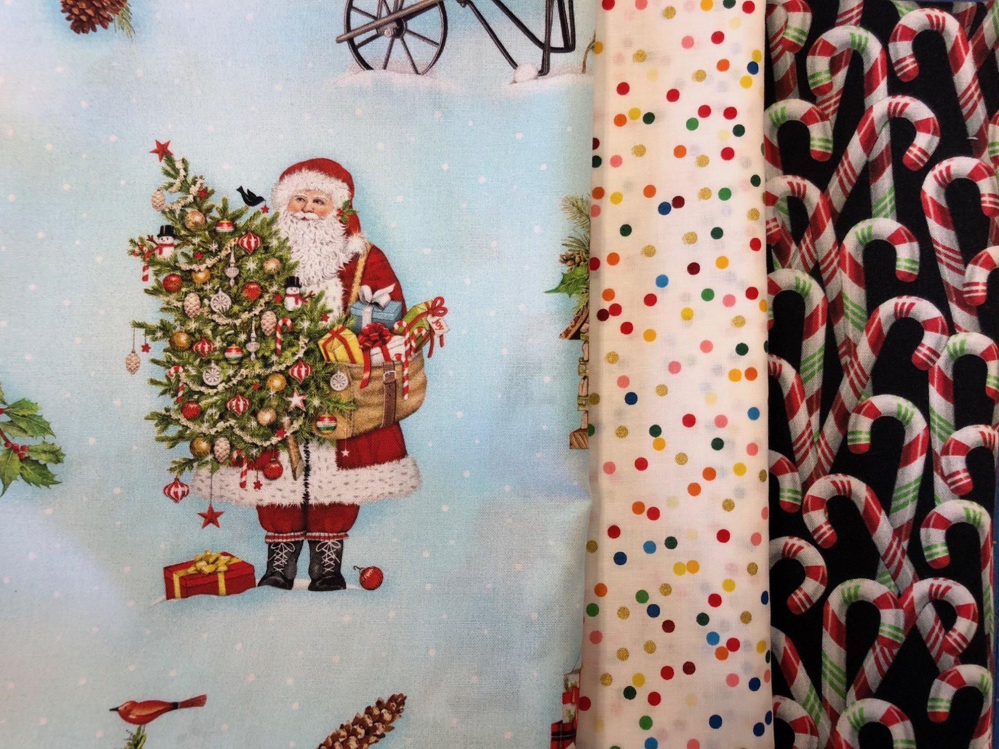 Bundle 107-Blue Santa and Friends