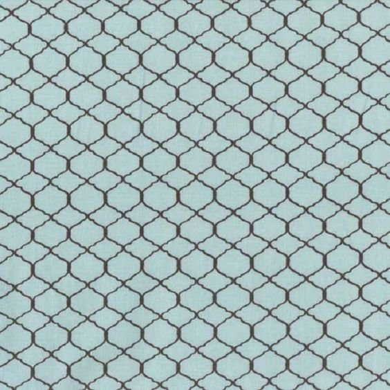 Bohemian Roosters Blue Chicken Wire - 745181298937