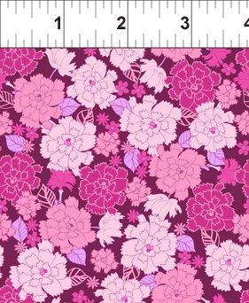 Carnation Pink/Maroon