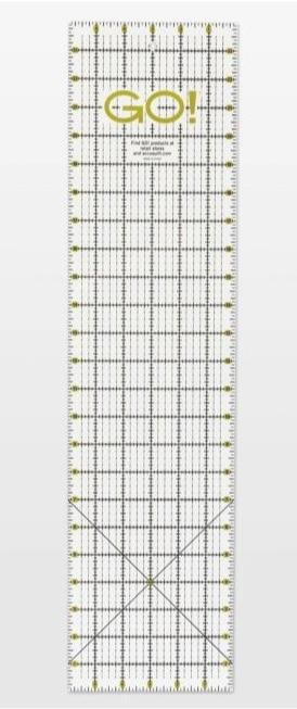 GO! quilting ruler 6 x 24