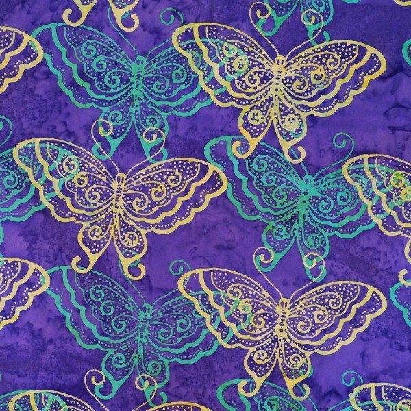 Riviera Moderna Violet Butterflys
