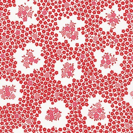 Pretty Posies Circles Red