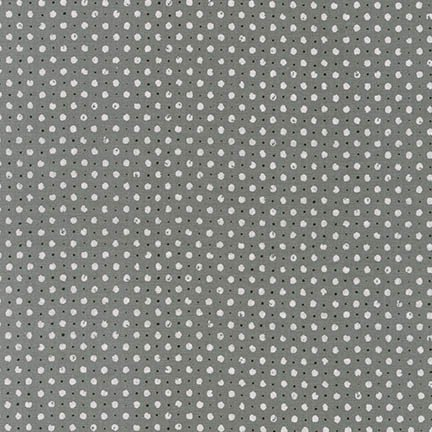 Black and White Dots Steel