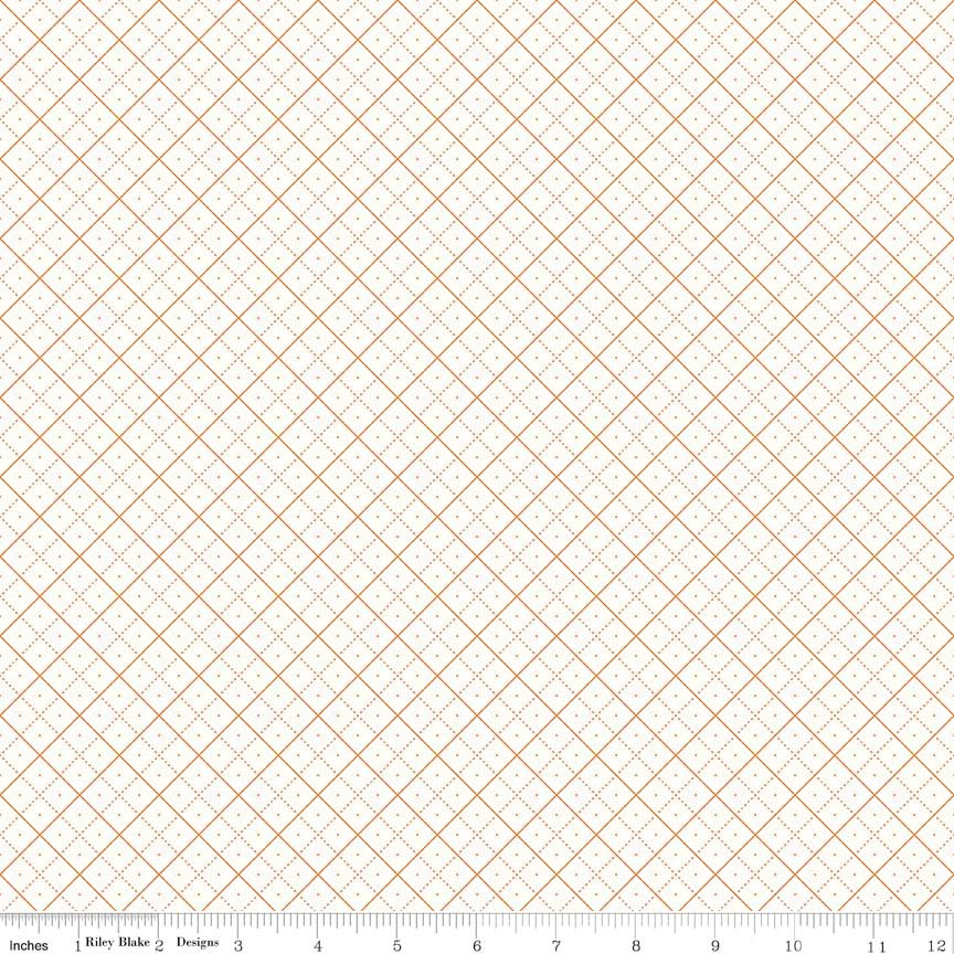 Bee Backgrounds Grid Orange
