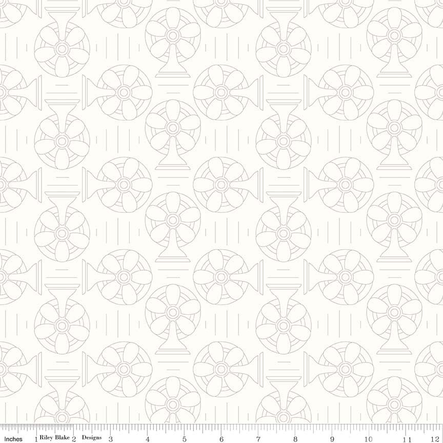 Bee Backgrounds Cool Gray