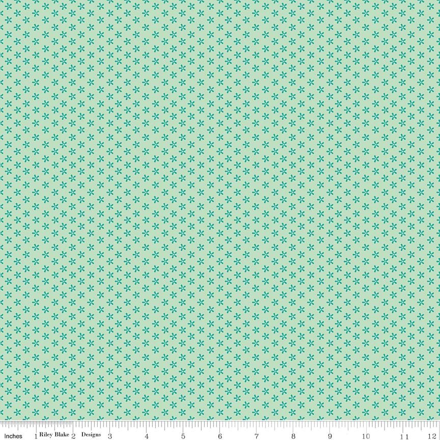 Bee Basics Tiny Daisy Teal