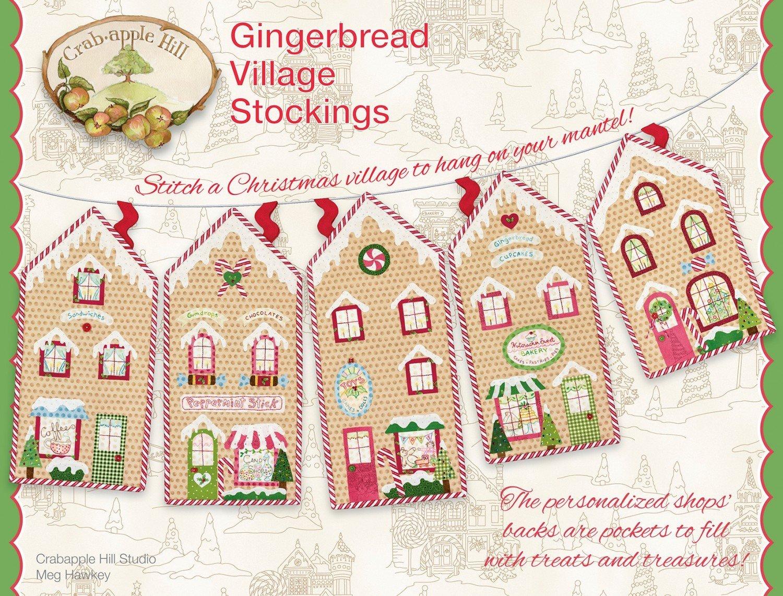 Gingerbread Village Stockings - 875352003906