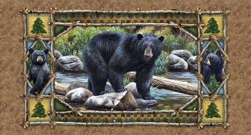 Chestnut Bear Scenic Panel (24)