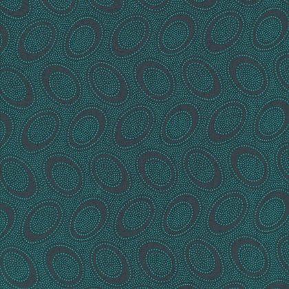 Aboriginal Dot - Charcoal