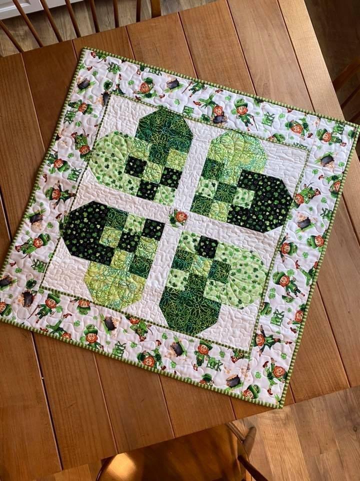 Interwoven Hearts Kit (w/pattern), St. Patrick's Day