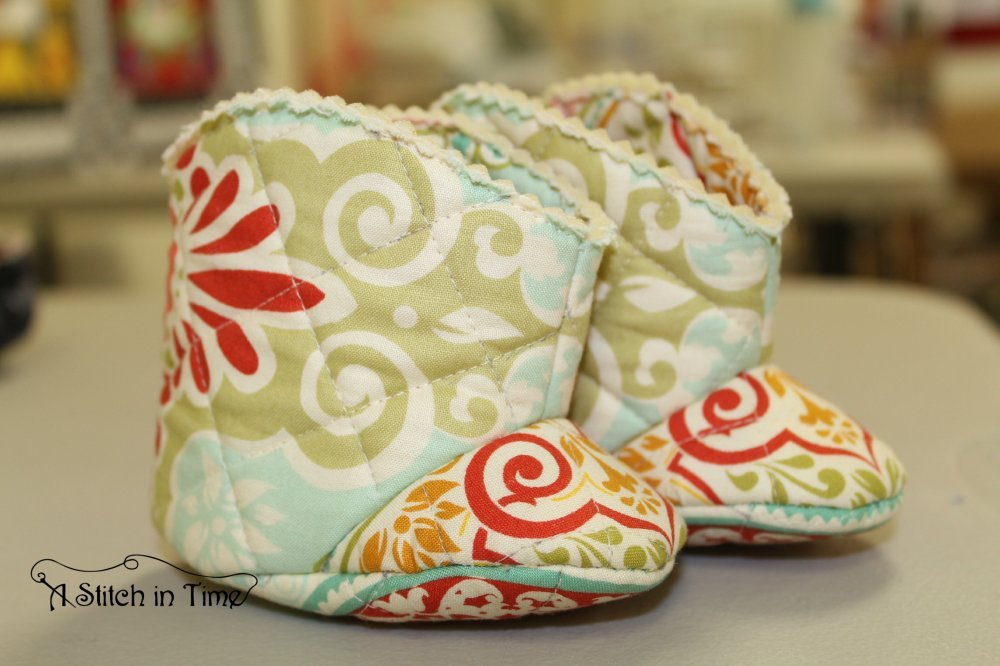 Quilted Baby Cowboy Boots
