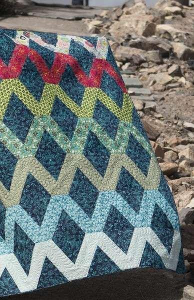 Varsity Pattern by Jaybird Quilts