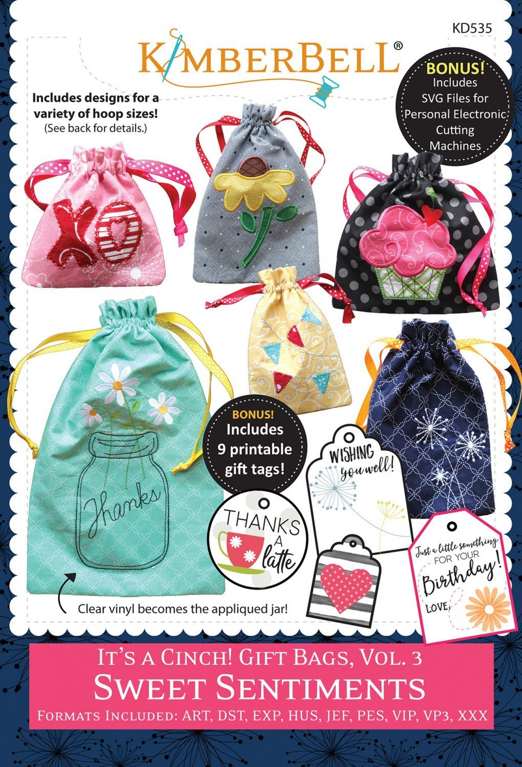 CD It's a Cinch Gift Bags Volume 3 Sweet Sentiments