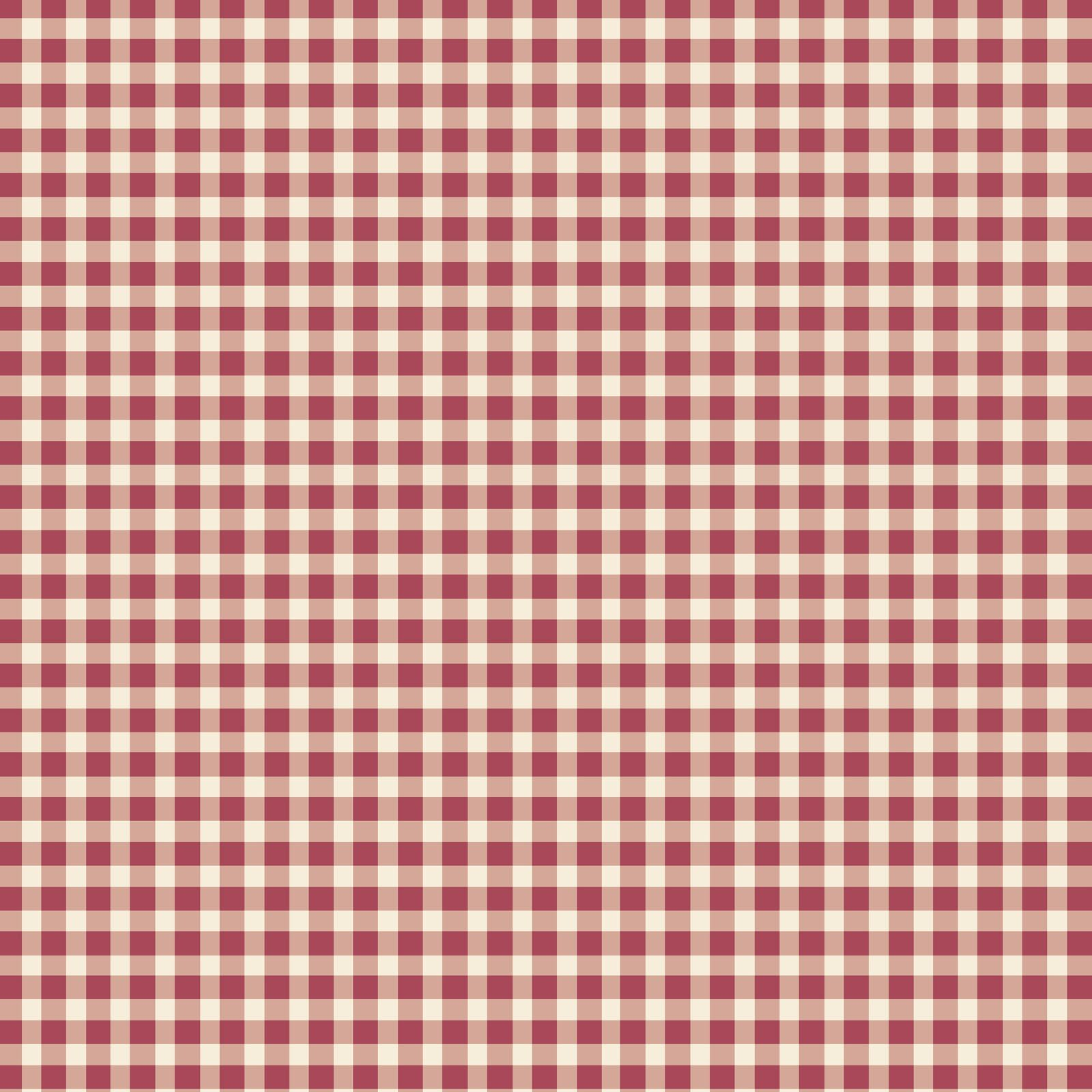 Beautiful Basics, Check, Red 610-R4