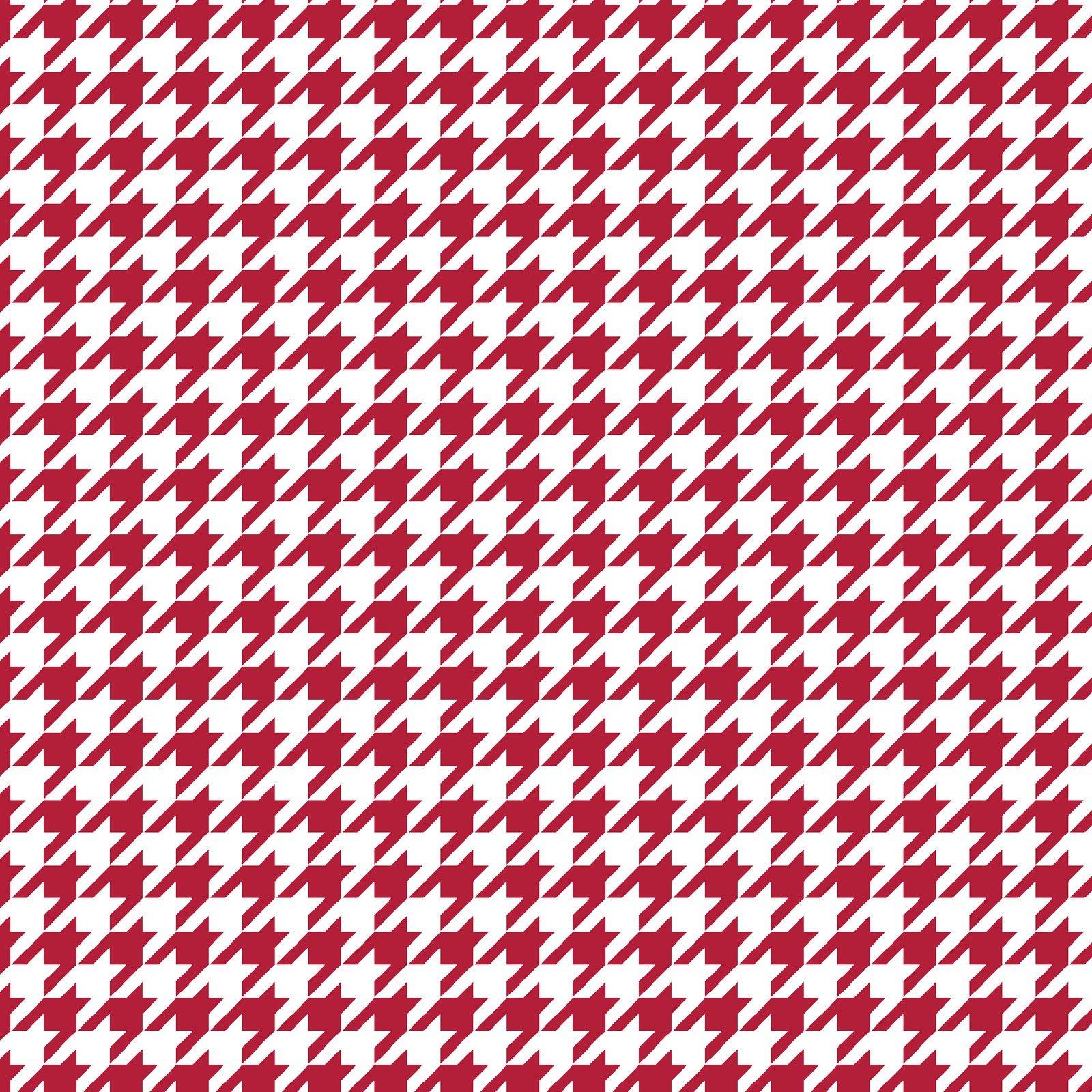 Kimberbell Basics, Houndstooth Red, 8206-R