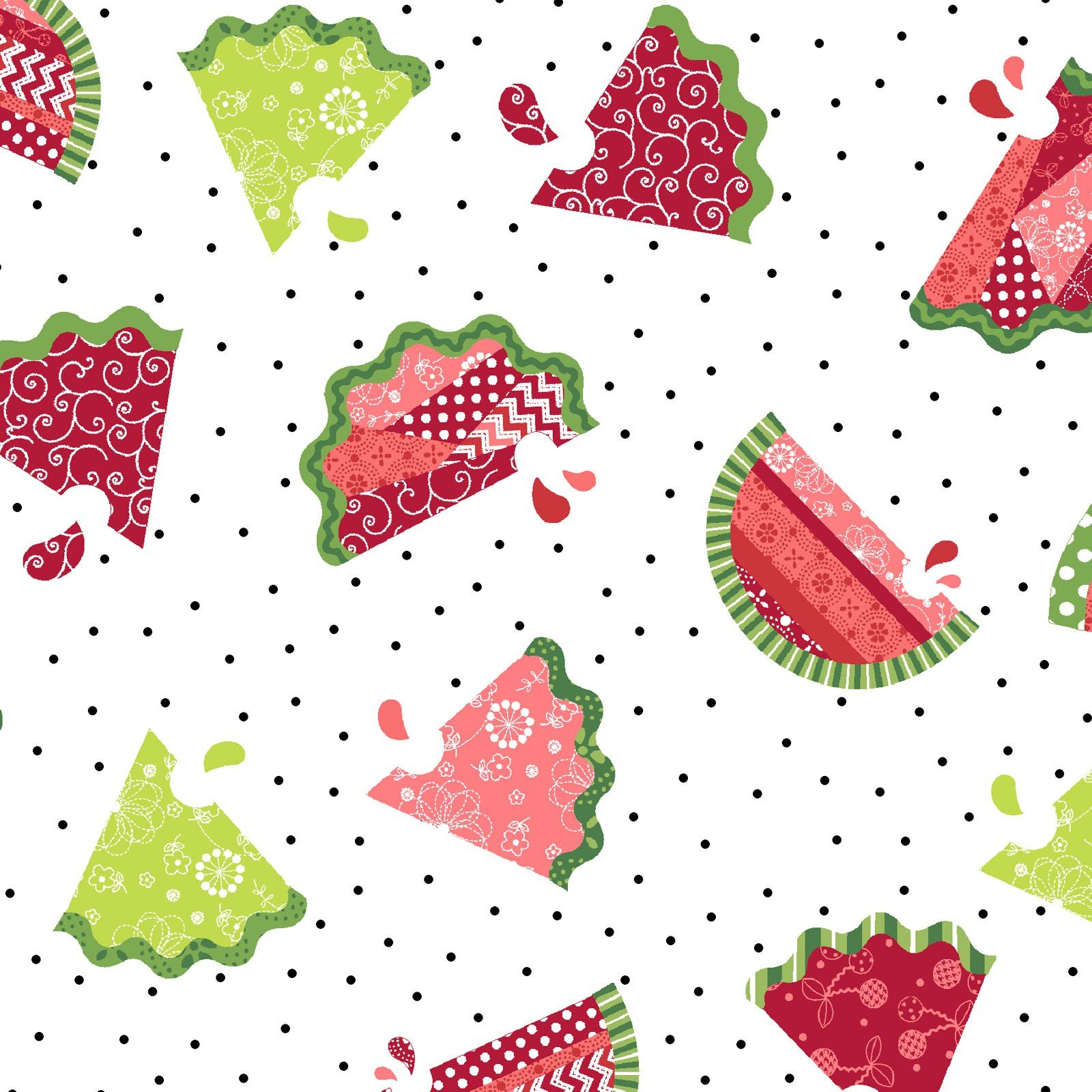Sprinkle Sunshine-Watermelons on white