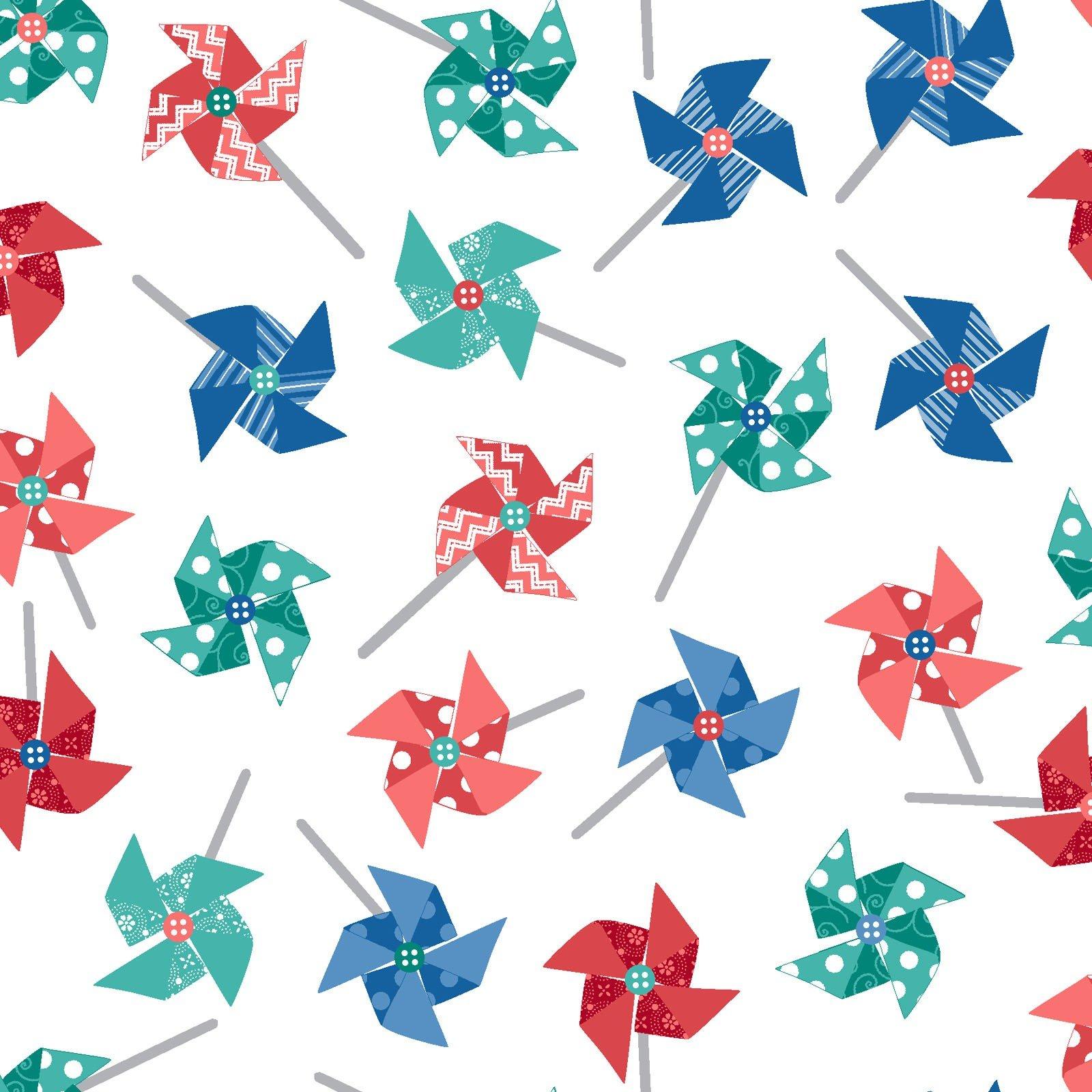 Sprinkle Sunshine-Pinwheels on white