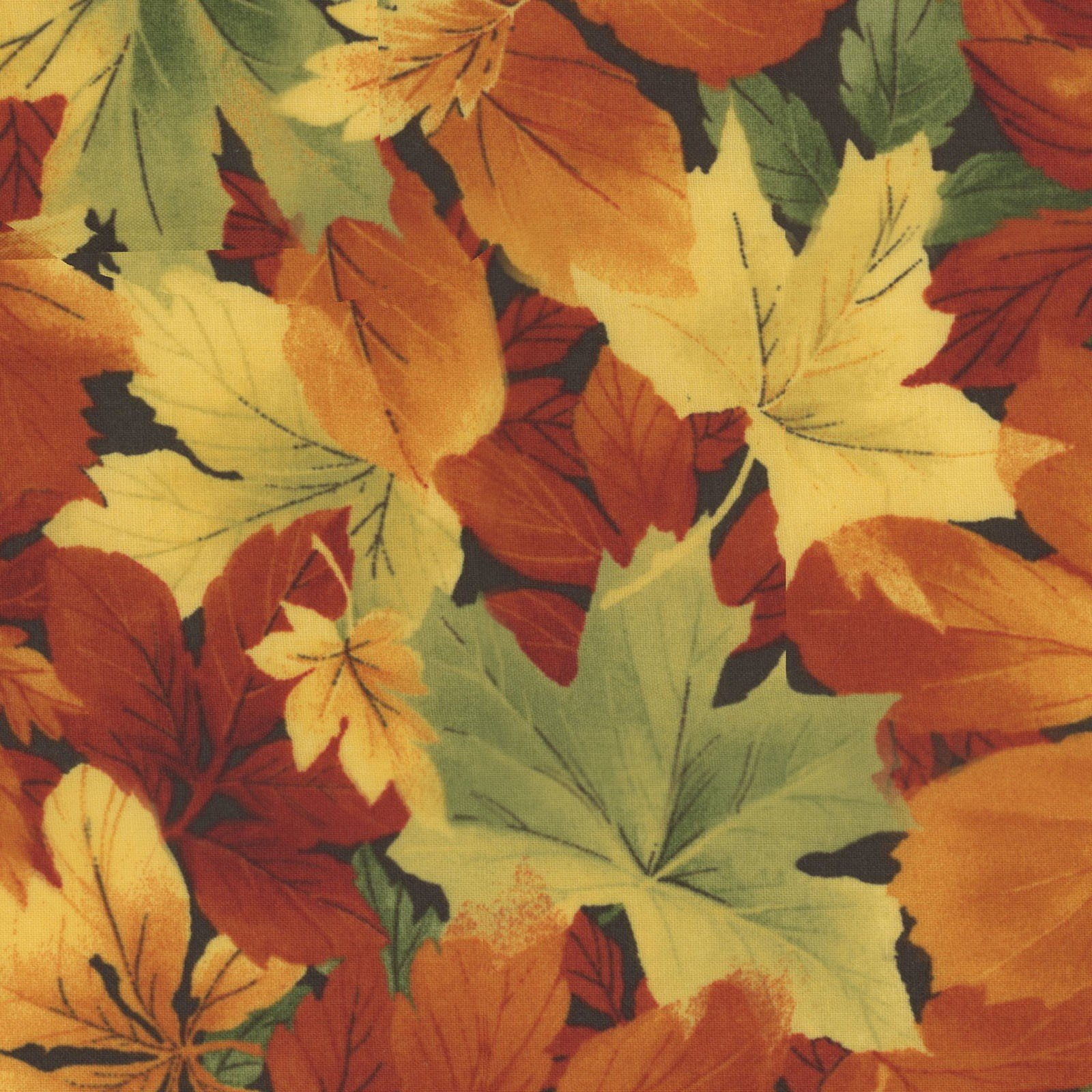 Falling Leaves - Lush Leaves