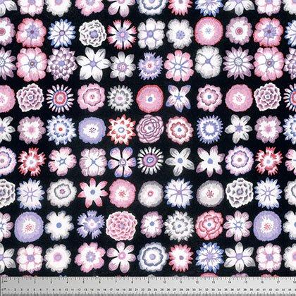 Button Flowers Contrast
