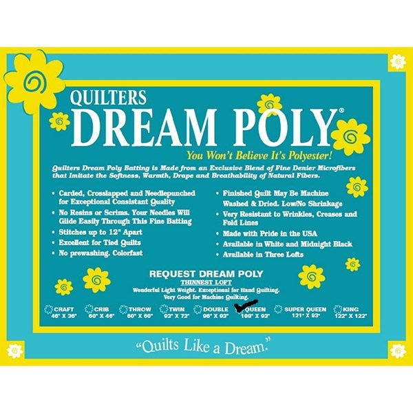 Quilters Dream Poly Request Queen 108 x 93