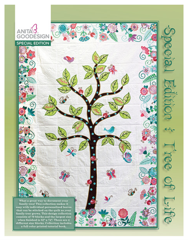 Anita Goodesign Tree of Life Special Edition - 079673005322