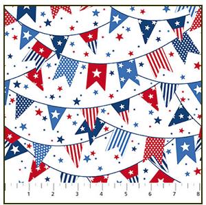 *Sweet Land of Liberty banners