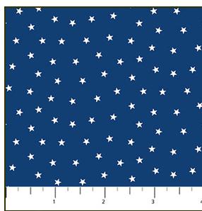 *Sweet Land of Liberty tiny stars on blue