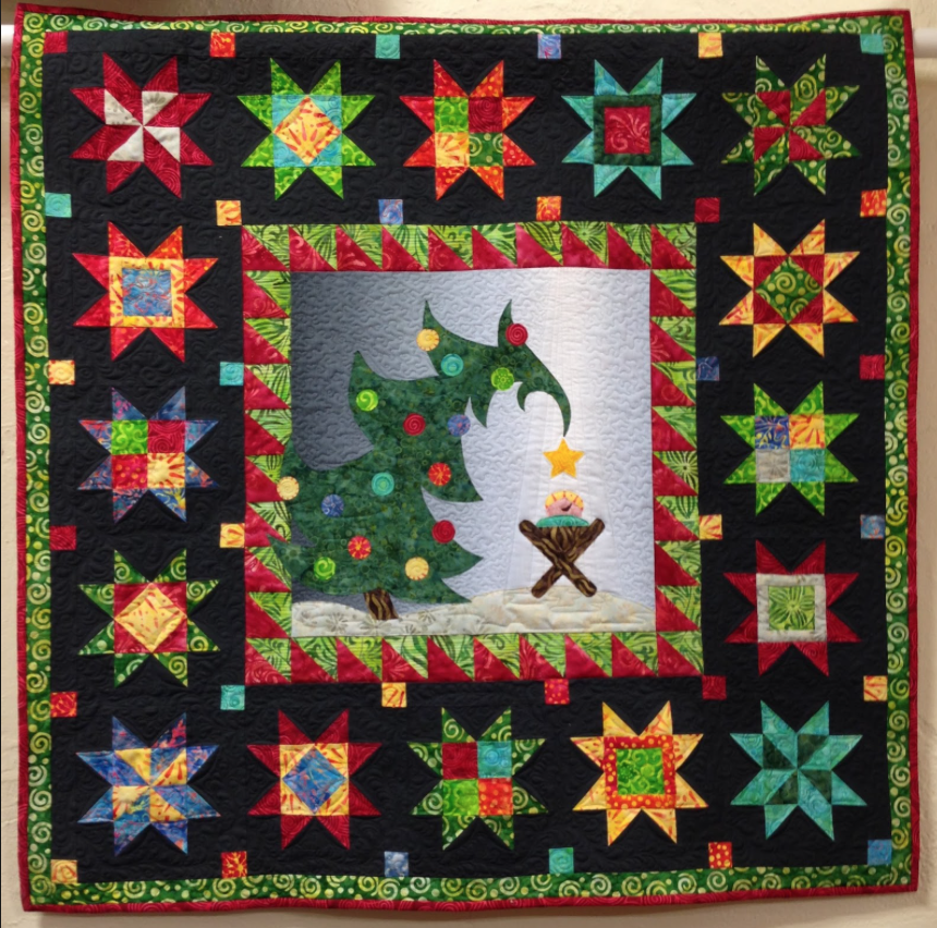 Christmas Morning Delight kit w/ pattern