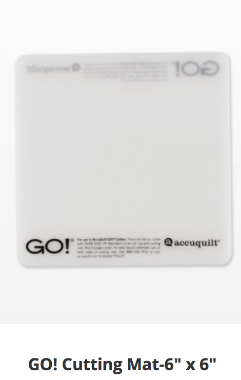 Go! cutting mat, 6x6,