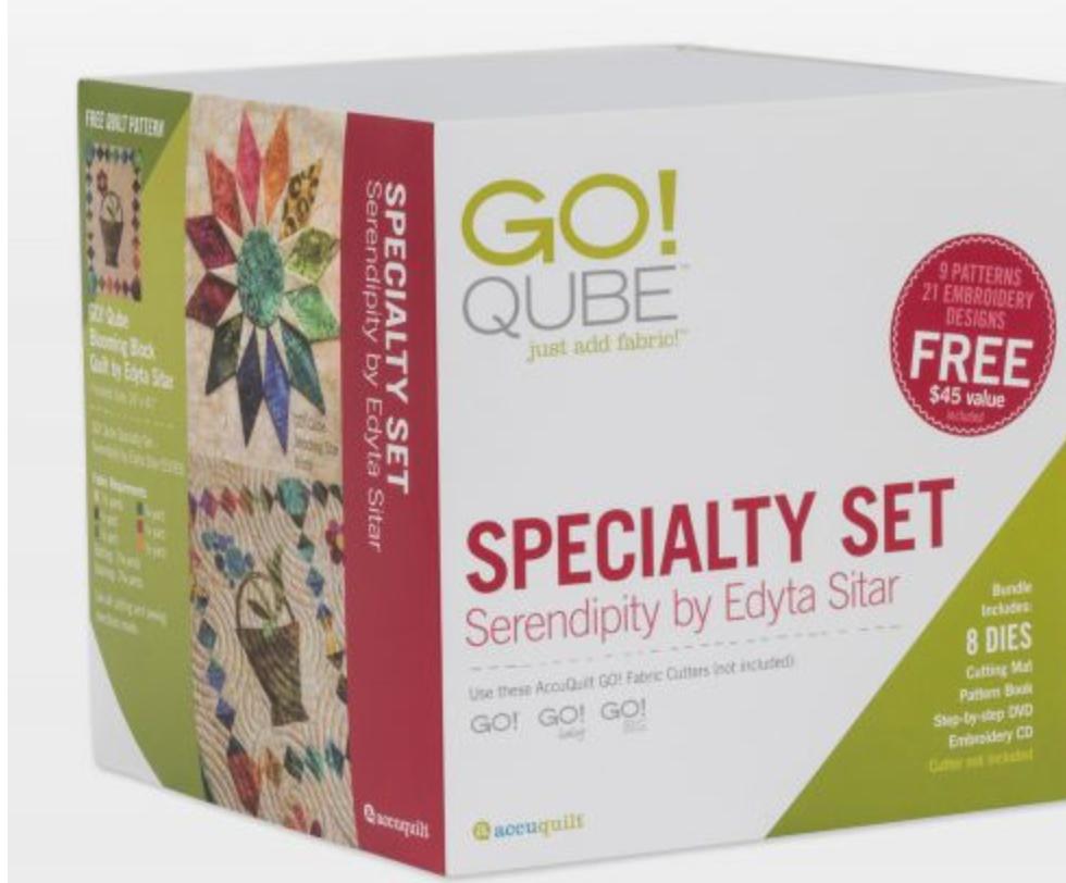 Go! Qube Serendipity Qube by Edyta Sitar