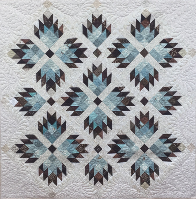 Double Bear Paw, quilt pattern