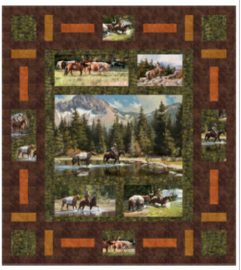 High Country Crossing, quilt kit