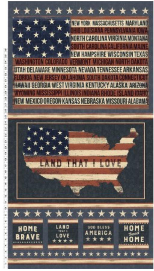 Land that I love, Panel 24 x 44, Y2412-55