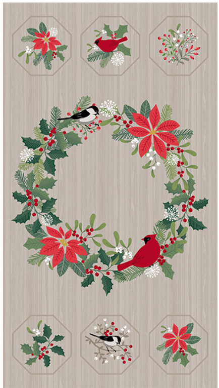 *Swedish Christmas, 24 panel