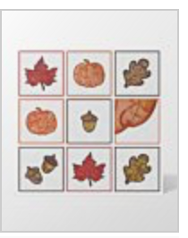 Fall Medley machine embroidery applique CD