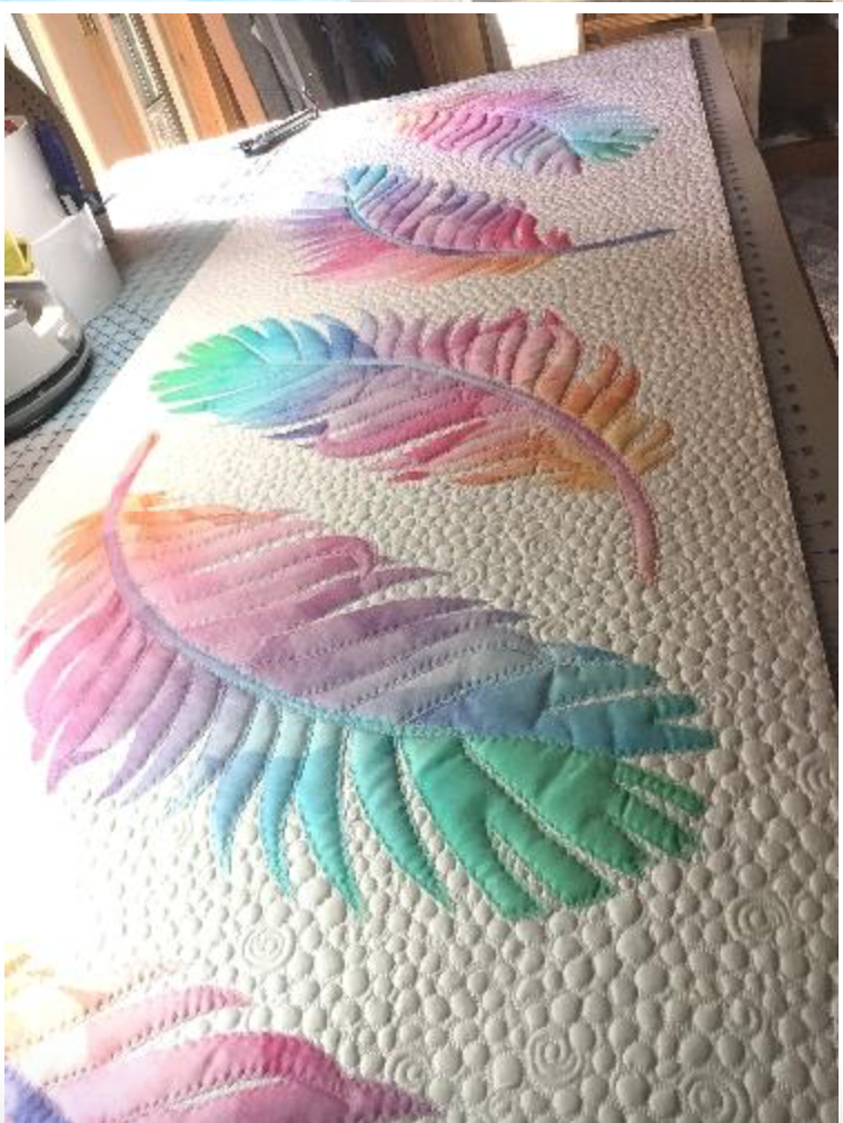 Dream Catcher Bed Runner kit, opal