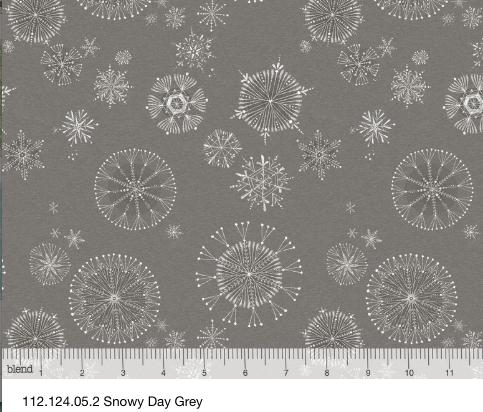 Snowy Day, grey