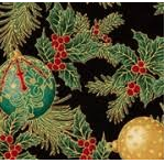 Holiday Flourish 12, APTM-18338-2  BLACK
