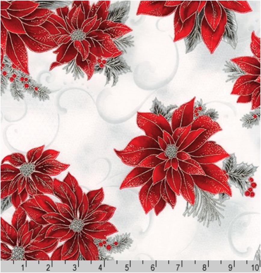 Holiday Flourish 12, APTM-18336-186 SILVER