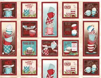 Cuppa Cocoa Craft Panel Multi