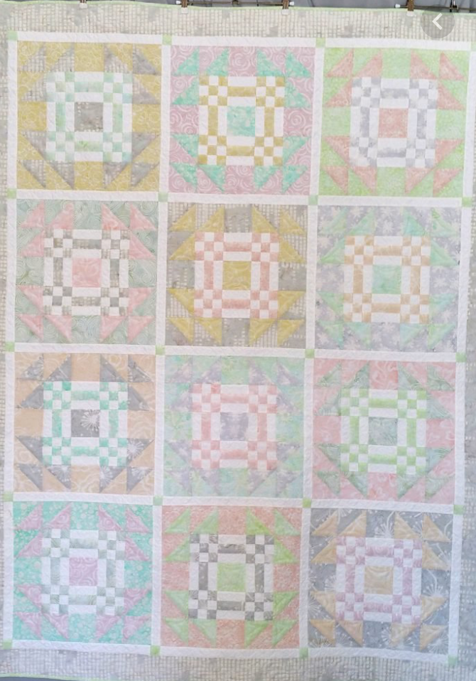 Allusive Goose, quilt kit (w/pattern)