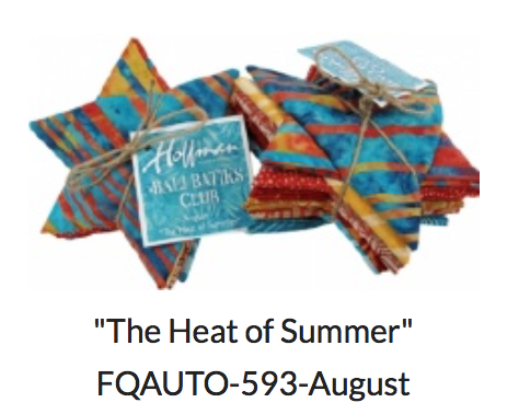 Bali Batik Club- August The Heat of Summer 12 FQ bundle