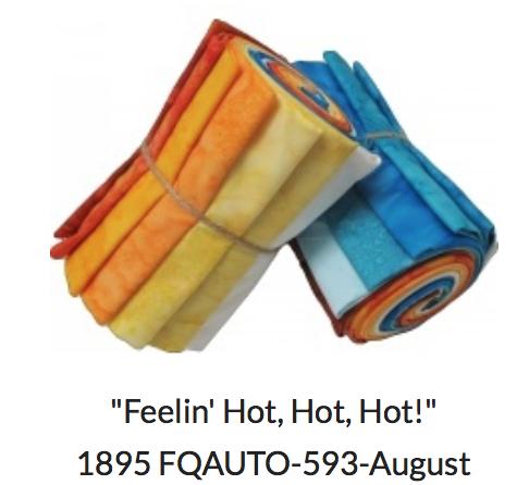 1895- Watercolor Club- August Feelin' Hot, Hot, Hot!