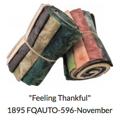 1895- Watercolor Club-November  Feeling Thankful