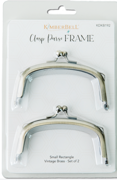 CLASP PURSE FRAME-Small Rectangle