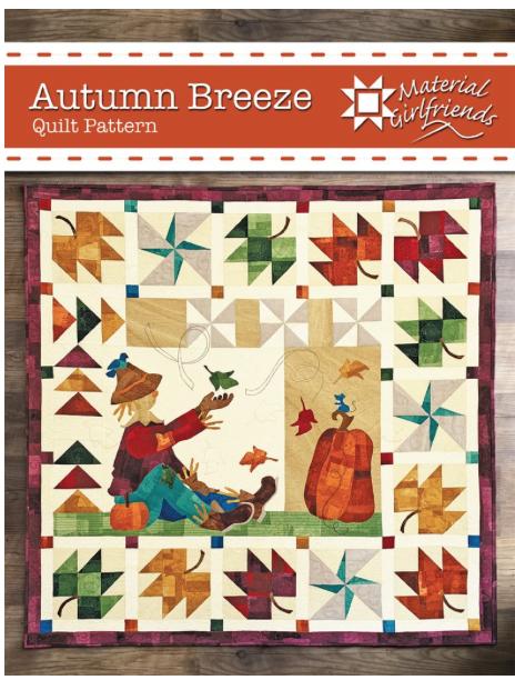Autumn Breeze, quilt kit (includes pattern)
