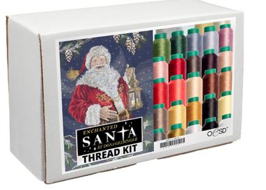 Enchanted Santa, Thread kit